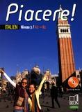 Anne Le Phu Duc et Alexandra Rainon Martinez - Italien Niveau 3 A2/B1 Piacere !. 1 CD audio