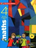 Nadine Jacob - Maths 4e - Programme 2009, format compact. 1 Cédérom