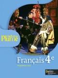Françoise Lagache et Eric Pellet - Français 4e L'oeil et la plume - Programme 2011.