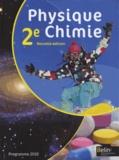 Xavier Bataille et Jean-Marie Parisi - Physique Chimie 2e Programme 2010.