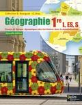 Serge Bourgeat et Catherine Bras - Géographie 1re L, ES, S - France et Europe : dynamiques des territoires dans la mondialisation.