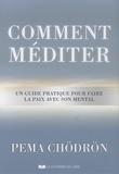 Pema Chödrön - Comment méditer - Un guide pratique pour faire la paix avec son mental.