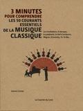 Joanne Cormac - 3 minutes pour comprendre les 50 courants essentiels de la musique classique - Les troubadours, le baroque, la symphonie, le chef d'orchestre, Wagner, Stravinsky, Yo-Yo Ma....