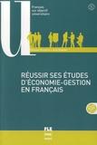 Chantal Parpette et Julie Stauber - Réussir ses études d'économie-gestion en français. 1 DVD
