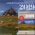 Isabelle Gruca - Calendrier langue et culture françaises - Un défi quotidien avec un livret des réponses.