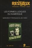 Patrice Flichy et Jean-Paul Simon - Réseaux N° 173-174, mai-juil : Les formes ludiques du numérique, Marchés et pratiques du jeu vidéo.