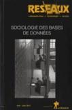 Patrice Flichy - Réseaux N° 178-179, mai-juin : Sociologie des bases de données.