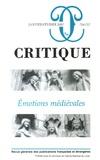 Philippe Roger - Critique N° 716-717, Janvier- : Emotions médiévales.