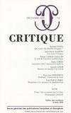 Ruwen Ogien et Jean-Philippe Martin - Critique N° 751 : .
