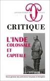 Philippe Roger - Critique N° 872-873, janvier- : L'Inde : colossale et capitale.