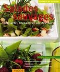 Cornelia Schinharl - Salades sauvages - Roquette, cresson et ail des ours.