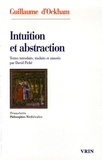 David Piché et  Guillaume d'Ockham - Intuition et abstraction.