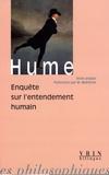David Hume - Enquête sur l'entendement humain.