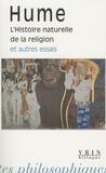 David Hume - L'Histoire naturelle de la religion et autres essais.