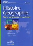 Corinne Durand et Jean-François Lecaillon - Histoire-géographie, terminale bac professionnel - Cours, documents et activités.