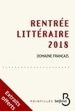 Collectif - Rentrée littéraire Belfond français 2018 - extraits gratuits.