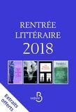 Collectif - Rentrée littéraire Belfond Etranger 2018 extraits.