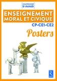 Elsa Bouteville et Benoît Falaize - Posters enseignement moral et civique cycle 2.