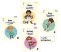 Boualem Aznag et Stéphane Grulet - Pack des 4 titres Quartier libre + Guide pédagogique.