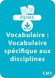 Catherine Vialles - Vocabulaire CM1.