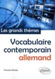 Francine Rouby - Vocabulaire contemporain allemand.