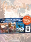 Denis-Pierre Filippi et Silvio Camboni - Gargouilles  : Pack en 3 volumes : Tome 4, Phidias ; Tome 5, Le double maléfique, Tome 6, Le livre des mages.