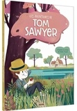 Mark Twain et Bénédicte Rivière - Les aventures de Tom Sawyer.