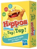 Hasbro - Hippos Gloutons Tap ! Tap ! - Seras-tu le plus habile des Hippos ?.
