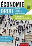 Philippe Le Bolloch et Yvon Le Fiblec - Economie Droit 2de, 1re et Tle Baccalauréats professionnels tertiaires.