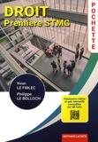 Yvon Le Fiblec et Philippe Le Bolloch - Droit 1re STMG Pochette.