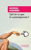 Giorgio Agamben - Qu'est-ce que le contemporain ?.