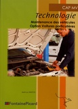 Jean-Luc Bascol - Technologie CAP MV - Maintenance des véhicules option voitures particulières.