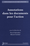 Pascal Salembier - Annotations dans les documents pour l'action.