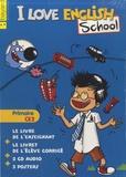 Bayard - I Love English School CE2 - Le kit enseignant. 2 CD audio