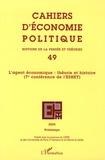 Daniel Diatkine et Philippe Steiner - Cahiers d'économie politique N° 49, Printemps 200 : L'agent économique : théorie et histoire - 7e conférence de l'ESHET.