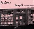 Jean Clément - Parlons bengali - Langue et culture. 1 CD audio