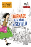 Laurence Schaack - Tournage al Alcazar de Sevilla.