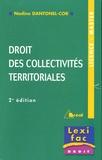 Nadine Dantonel-Cor - Droit des collectivités territoriales.