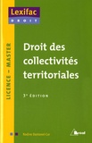 Nadine Dantonel-Cor - Droit des collectivités territoriales : Licence, Master.