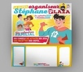 Stéphane Plaza et  El Gunto - Le super organiseur de Stéphane Plaza - Avec un feutre effaçable.