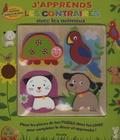 Mandy Stanley - J'apprends les contraires avec les animaux - Livre puzzle.