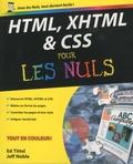 HTML, XHTML & CSS / Ed Tittel, Jeff Noble | Tittel, Ed. Auteur