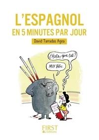 David Tarradas Agea - L'espagnol en 5 minutes par jour.