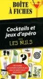 Stéphanie Bouvet - Cocktails et jeux d'apéro pour les Nuls - Boîte à fiches.