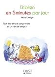 Marc Lesage - L'italien en 5 minutes par jour.
