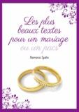 Harmonie Spahn - Les plus beaux textes pour un mariage ou un PACS.