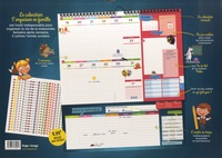 Calendrier S'organiser en famille  Edition 2020-2021