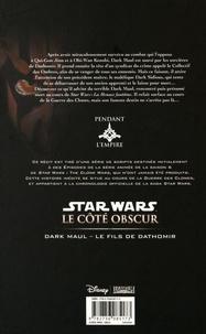 Star Wars, Le côté obscur Tome 15 Dark Maul. Le Fils de Dathomir
