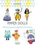 Gaël Le Neillon - Paper dolls - Pantins de papier à assembler et à colorier.