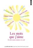 Pierre Arditi et Jeanne Cherhal - Les mots que j'aime - En dix mots comme en cent.